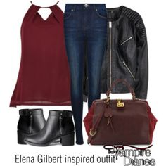 Elena Gilbert inspired outfit/TVD