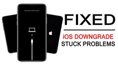 How To #Fix #iOSDowngrade #Stuck #Problems [5 #Solutions]. 1: #ForceRestart Your #iPhone/#iPad To Fix iPhone/iPad Stuck On #iOS14/13/12/11/10. 2: Manually #Exit #DFUMode Or #RecoveryMode. 4: Fix iOS Downgrade Stuck With #iTunesRestore. 5: Try #iOSSystemRecovery #Software. Recovery Tools, Data Recovery, New Ios, Black Screen, Used Iphone, Ipod Touch, Software, Ipad