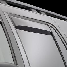 WeatherTech 81032 Series Dark Smoke Rear Side Window Deflectors - Side Window Deflectors WeatherTech(R) Side Window Deflectors, offer fresh air enjoyment with an original equipment look, installing within the window channel. They are crafted from the finest 3mm acrylic material available. Installation is quick and easy, with no exterior tape needed. WeatherTech(R) Side Window Deflectors are precision-machined to perfectly fit your vehicle's window channel. These low profile window deflectors…