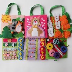 """Set of felt developing tablets """"Kitten"""" - Education, psychology - from one to…"""