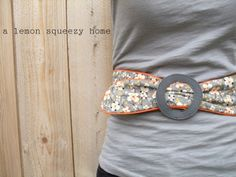 vinyl belt buckle interchangeable belt tutorial