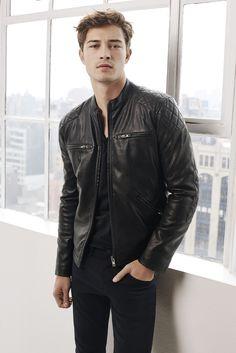 Mavi Leather Moto Jacket