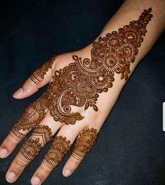 Kashee's Mehndi Designs, Indian Henna Designs, Latest Arabic Mehndi Designs, Mehndi Designs For Girls, Mehndi Design Photos, Mehndi Designs For Fingers, Beautiful Henna Designs, Henna Tattoo Designs, Mehndi Images
