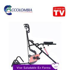 Total Crunch Bike Family Combo 7 en 1 Rosado Gym Equipment, Bike, Fitness, Fitness Equipment, Industrial Revolution, Gym, Treadmills, Tecnologia, Colombia