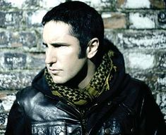 "Trent Reznor. Met him in 1989 when opened for Peter Murphy. He stood in front of us when he was done and we told him, ""You were really good!"" He was very appreciative."