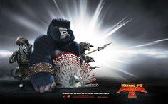 window 7 HD Wallpaper: Kung Fu Panda 2 Hollywood Movie HD Wallpapers