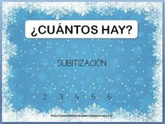 Aula de la maestra Laura: SUBITIZACIÓN II