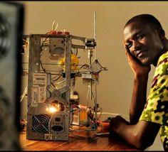 En Afrique, une imprimante 3D à base de déchets
