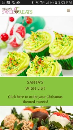 Christmas Cupcakes Chocolate Covered Strawberries