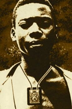 Isidore Bakanja-died As a result of the beating and persistent ill treatment he received for being catholic Catholic Saints, Roman Catholic, Congo, Lady Of Mount Carmel, Praying The Rosary, Blessed Virgin Mary, Religious Art, Religious Images, Blessed Mother