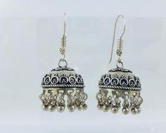 Bali Chandelier 925 Sterling Silver Beaded Fringe Dangle Earrings 16.5g #Unbranded #DropDangle