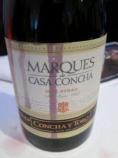 Concha Y Toro Marqués de Casa Concha Syrah 2012 - Buin, Maipo Valley, Chile (88 pts)