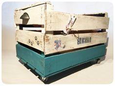 cajas antigua de madera personalizada por REinventa12.com
