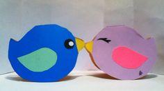 Handmade Kawaii Bird Card Cardstock by justcreativecards on Etsy, $2.00
