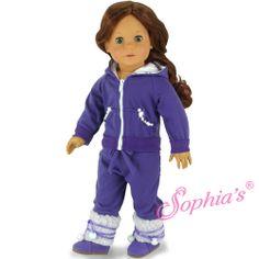 Purple Sparkle Sweatsuit