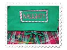 Naughty Applique Box - 3 Sizes!   Christmas   Machine Embroidery Designs   SWAKembroidery.com Katelyn's Kreative Stitches