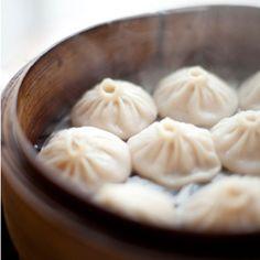 Home made Pork Dumplings from The Shanghai House in San Francisco