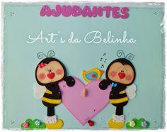 Artesantos em E.V.A by Cibelle Mello