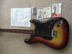 Vintage Fender Stratocaster USA 1978   United Kingdom   Gumtree...£1000 a steal