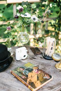 A Sherlock Holmes-Inspired 1st Birthday Party | Rue