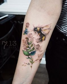75 Cute Bee Tattoo Ideas | Art and Design