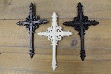 Find Crosses at Indelible Metal Crosses, 3 Piece