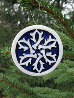 Celtic Snowflake Ornament  Free Shipping in USA by obrienobjects, $14.00
