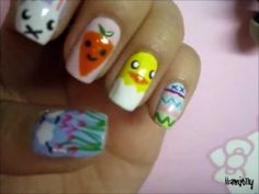 Spring Easter Nail Tutorial