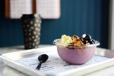 looks like a delicious vegan breakfast bowl smoothie: The dish was developed to fête the restaurant's latest outposts in Los Angeles and NYC—and we've got the exclusive recipe.