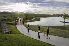 Integrating walking trails into the community not only provides great fitness opportunities but allows for more social interaction with neighbors.  Daybreak features a 22 mi. trail system including an almost perfect 5k loop around the lake.
