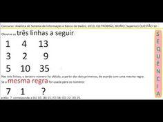 Curso Raciocínio Lógico Sequência de números Teste Psicotécnico Detran C... https://youtu.be/qqboepB-Vd4