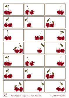 Nyomtatható cseresznyés címkék befőzéshez Smash Book Planner, Jam Label, Lion Tattoo Design, Homemade Stickers, Canning Labels, Cherries Jubilee, Vintage Scrapbook, Printable Labels, Too Cool For School
