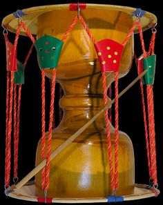 The changgo is the double-headed hourglass drum of Korea, believed to have been brought to Korea from the West along the Silk Road. The Changgo is used in many styles, from court to shamanistic folk music
