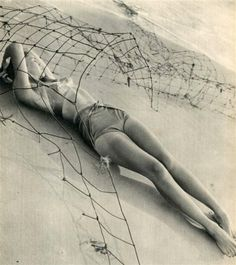 Composition #57, Photogravure, 1947. Photo by Fritz Henle