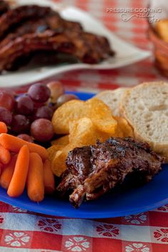 Easy, Make Ahead BBQ Baby Back Ribs | Pressure Cooking Today