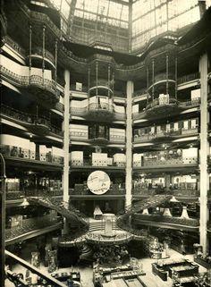Image 30 of 35 from gallery of Printemps Haussmann Verticalité / UUfie. Photograph by Printemps Paris 1920s, Old Paris, Vintage Paris, Old Pictures, Old Photos, Vintage Photos, Antique Photos, Vintage Photographs, Vintage Postcards