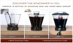 Personal Winemaking System - Artful Winemaker: Home Wine Making Tips, How To Make Wine At Home, Make Your Own Wine: How it Works