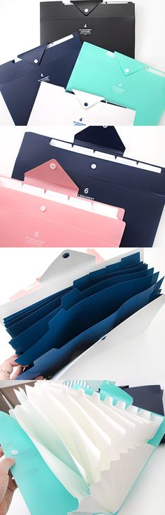 An easy and effective way to de-clutter papers scattered on your desk and organize them!