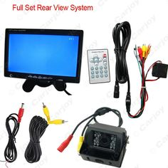 """69.00$  Buy here - http://alibmw.worldwells.pw/go.php?t=32677320464 - """"2 in 1  DC24V 7"""""""" TFT LCD Stand-alone Headrest Monitor With Truck/Bus CCD Camera Auto Rear View System #CA3780"""""""