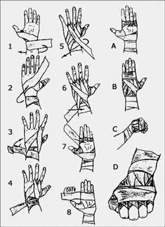 How to wrap ur hands