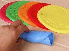 Get a chance of winning a free flexible frisbee for only a limited time!