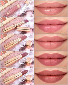 Sheer Lipstick, Brown Lipstick, Lipstick Dupes, Lipstick Swatches, Pink Lipsticks, Makeup Swatches, Makeup Dupes, Lipstick Shades, Lipstick Colors