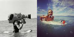 Underwater camera then and now :) #underwater, #actioncamera, #sportcamera, #gopro