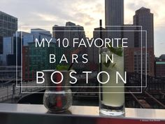 My 10 Favorite Bars in Boston // Brittany from Boston