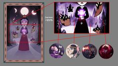 Hekatia's Tapestry Ghosts by jgss0109 on DeviantArt