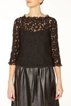 7e0795cad1af Eros Lace Long Sleeve Top by Alice by Temperley. oud zuid · Jane Birkin