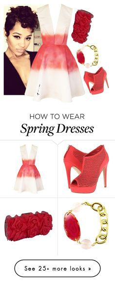 """Untitled #366"" by actress14 on Polyvore featuring Joana Almagro, Call it SPRING and Menbur"