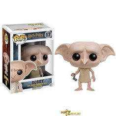 From the world of Harry Potter, Dobby, as a stylized POP vinyl from Funko! Stylized collectable stands 3 inches tall, perfect for any Harry Potter fan! Collect and display all Harry Potter Pop! Dobby Harry Potter, Harry Potter Pop Vinyl, Harry Potter Movies, Funko Harry Potter, Figurine Pop Harry Potter, Harry Potter Action Figures, Pop Figurine, Figurines Funko Pop, Funko Figures