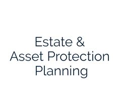 Estate & Legacy Planning