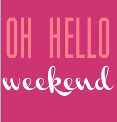 To all my followers :-) Happy weekend !